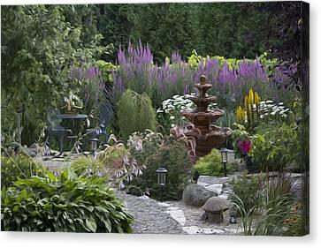 My Garden 2 Canvas Print