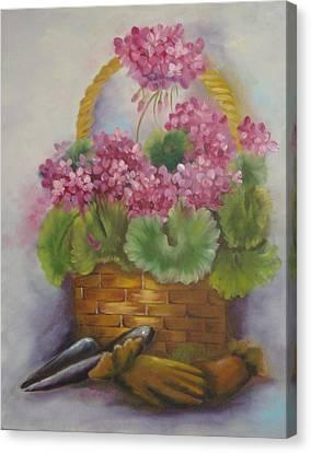 My Garden Prize Canvas Print by Bootsie Herder