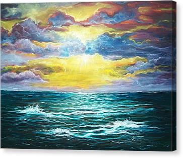 My God Canvas Print by Emery Franklin