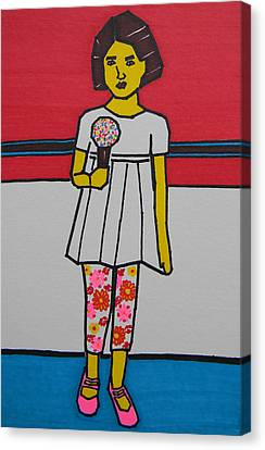 My Ice Cream  Canvas Print by Marwan George Khoury