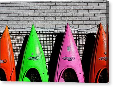 My Kayak Canvas Print