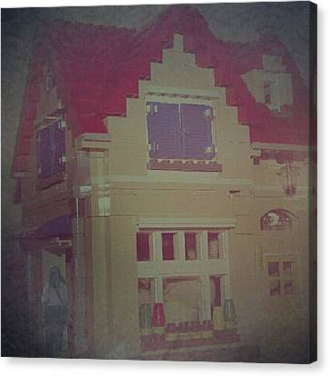 My Lego Home #impressionist Canvas Print