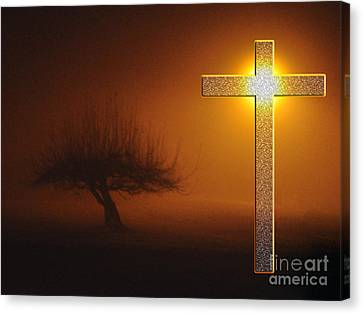 Canvas Print featuring the photograph My Life In God's Hands 3 To 4 Ration by Clayton Bruster