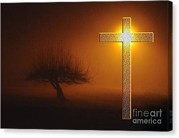 My Life In God's Hands Canvas Print by Clayton Bruster