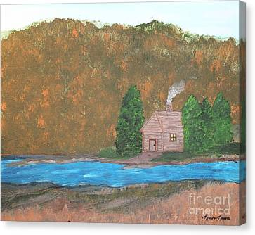 My Little Hide Away Canvas Print by Lorraine Louwerse