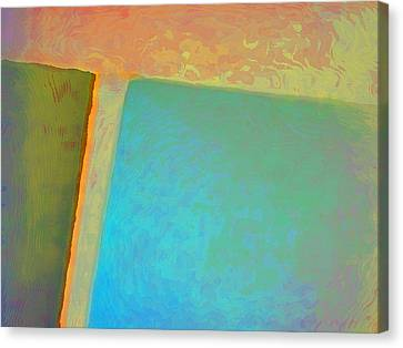 Canvas Print featuring the digital art My Love by Richard Laeton