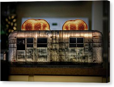 My Old Toaster Canvas Print by Jan Maklak