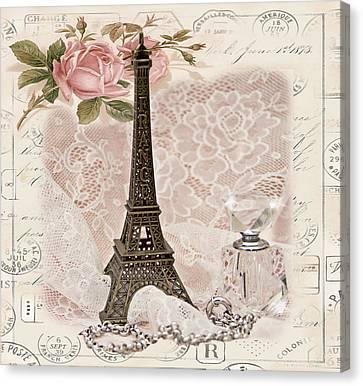 My Paris Canvas Print by Taschja Hattingh