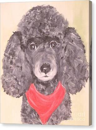 My Red Bandana Canvas Print by Rachel Carmichael