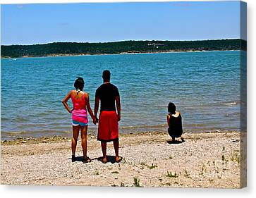 Canvas Print featuring the photograph My Sister's Keeper by Joe Finney
