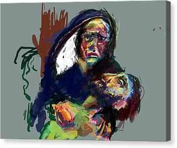 My Son Canvas Print by James Thomas