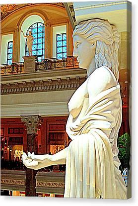 My Vegas Caesars 17 Canvas Print by Randall Weidner