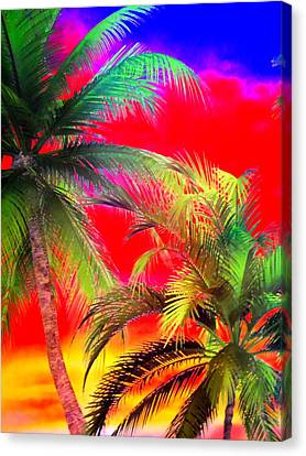 My Vegas Margaritaville 1 Canvas Print