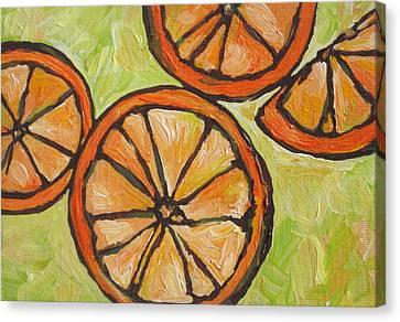 My Vitamin C Canvas Print by Sandy Tracey