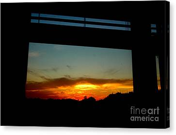 My Window Canvas Print by Mark Gilman