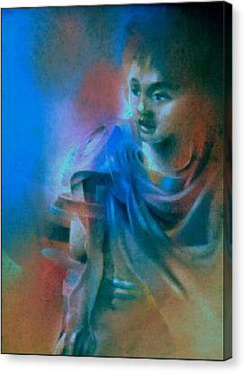 My Younger Bro Johnny 1980 Canvas Print by Glenn Bautista