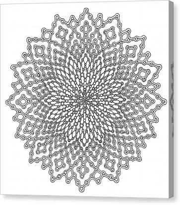 Mycelial Network Canvas Print