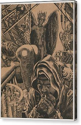 Mysterious Plot Canvas Print by Sirenko