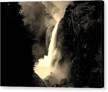 Mystery Falls Canvas Print