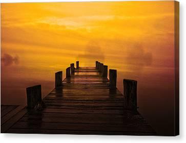 Mystic Dawning Canvas Print by Kim Shatwell-Irishphotographer