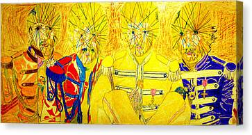 Mystic L Beat L Canvas Print by John Battles