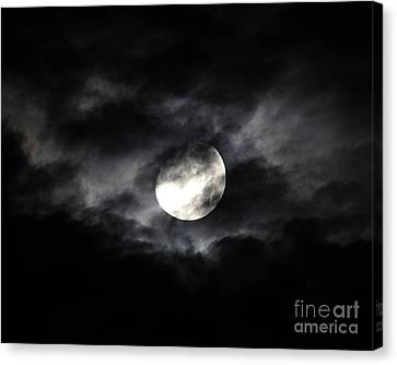 Mystic Moon Canvas Print by Al Powell Photography USA