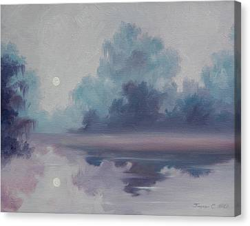 Mystic Moonlight Canvas Print by James Christopher Hill