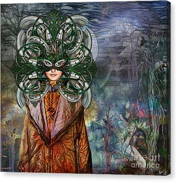 Mystical Adventures II Canvas Print by Rhonda Strickland