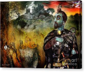Mystical Adventures Canvas Print by Rhonda Strickland