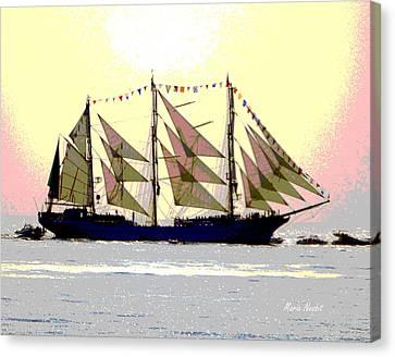 Mystical Voyage Canvas Print