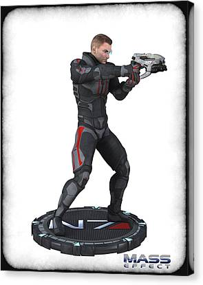 N7 Soldier V3 Canvas Print by Frederico Borges