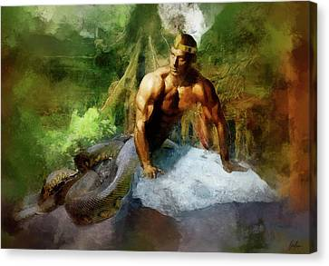 Marcin Canvas Print - Naga - King Cobra by Marcin and Dawid Witukiewicz