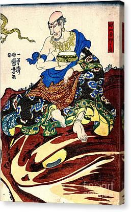 Spiritual Being Canvas Print - Nakasaina Sonja 1847 by Padre Art