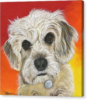 Nala Canvas Print by Debbie Brown