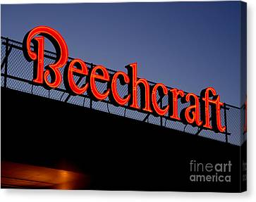 Name Beechcraft Canvas Print by Fred Lassmann