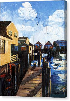 Nantucket Canvas Print by Anthony Falbo