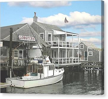 Nantucket Lobstering Canvas Print