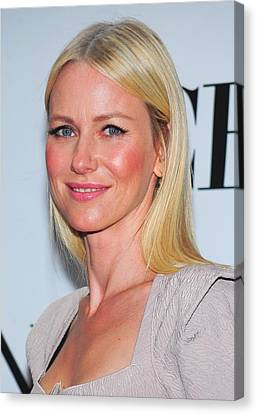 Naomi Watts At Arrivals For American Canvas Print by Everett