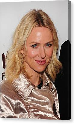Opening Night Canvas Print - Naomi Watts In Attendance For A View by Everett