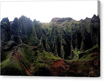 Napali Coast Hawai Canvas Print by Luis and Paula Lopez