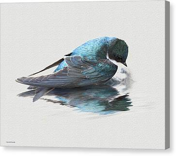 Narcissus Canvas Print by Ron Jones
