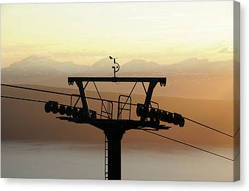 Norway Canvas Print - Narvikfjellet Cable Car In Narvik, Norway by Anjci (c) All Rights Reserved