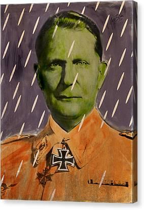 Nasi Goering Canvas Print by Nop Briex