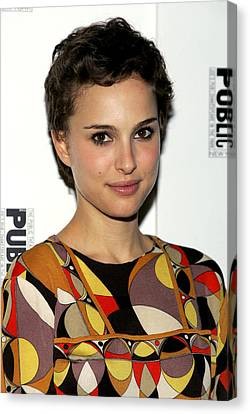 Natalie Portman At The After-party Canvas Print by Everett