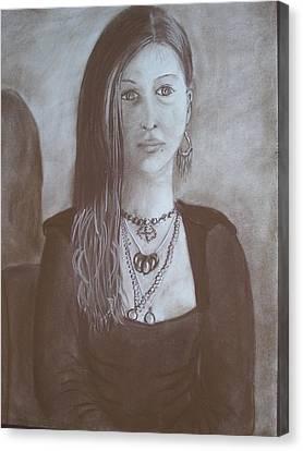 Natasha Canvas Print by Bonita Bruch