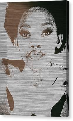 Natasha Brown Canvas Print