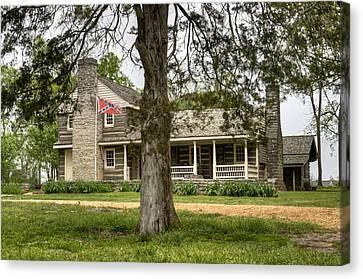 Nathan Bedford Forrest Boyhood Home 4 Canvas Print by Douglas Barnett