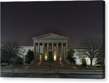 Marble Canvas Print - National Gallery Of Art by Metro DC Photography