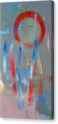 Native American Abstract Canvas Print by Charles Stuart