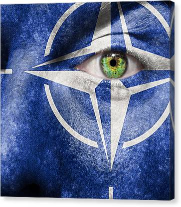 Nato Canvas Print by Semmick Photo